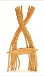 Basket, 25 x 35 x 9, Bent laminated found wood